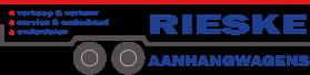 Rieske aanhangwagens logo